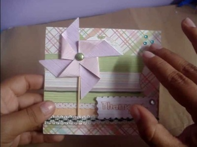 Idea de tarjeta + Proyecto mini album Scrapbook