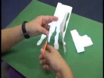 Kirigami - la magia del papel y las tijeras.