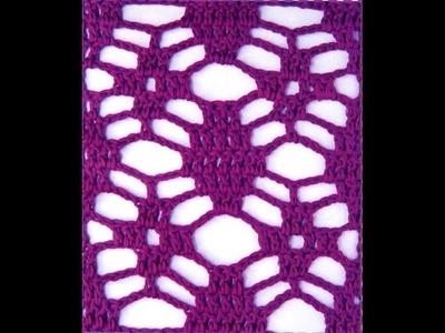 Muestras Calados 3 Tejidos a Crochet