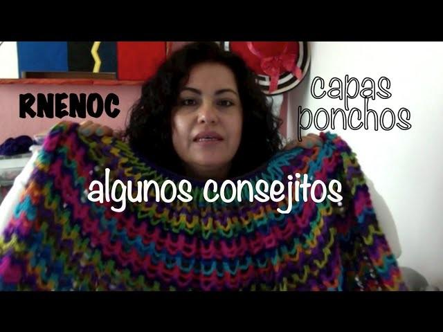Ponchos Capas, Tips y Consejos #Tejidos #Crochet #Ganchillo