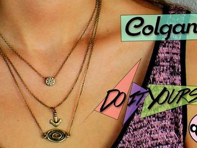 Tutorial DIY | Cadena de oro para el cuello