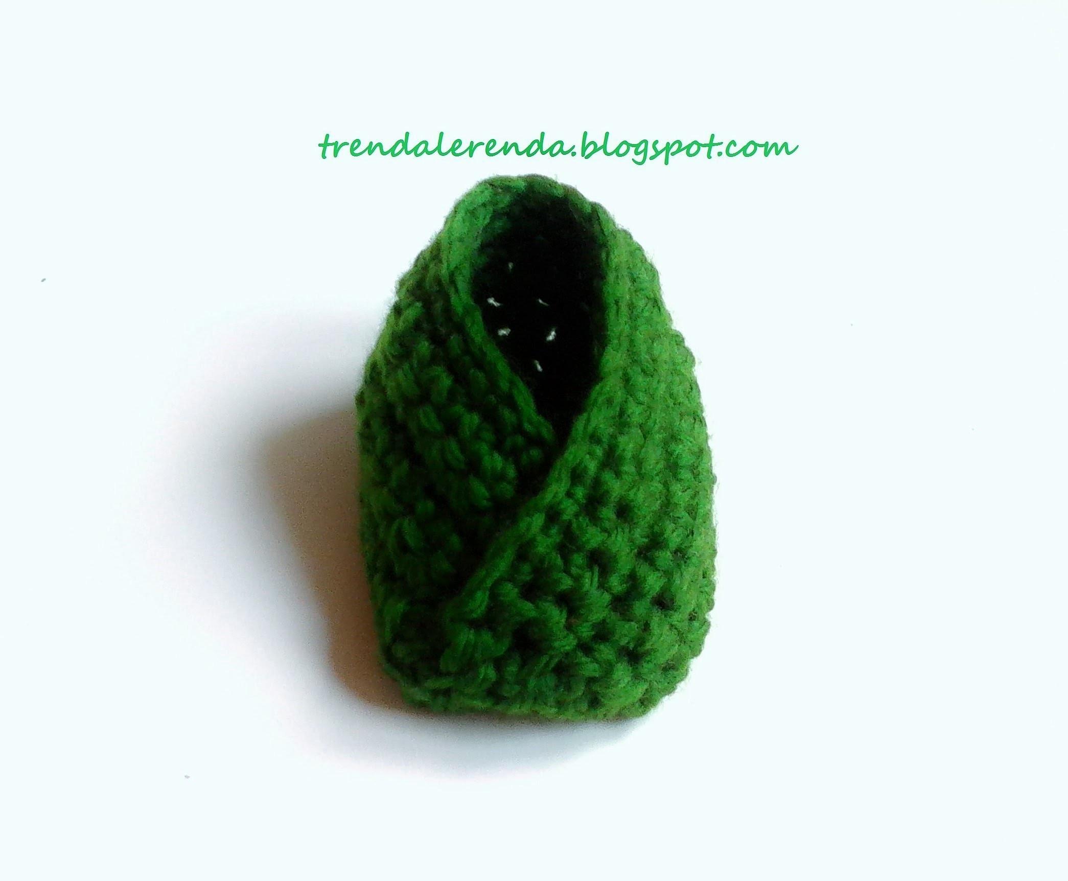 Tutorial zapatos bebé muy fácil y rápido. Easy crochet baby bootie.