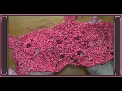 Aplicación crochet  Jerséis primavera  verano 2