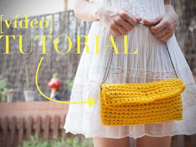 Cómo hacer un bolso fácil de ganchillo | How to make a crochet purse