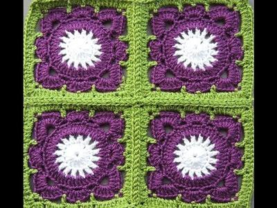Crochet : Cuadrado # 9. Uniones