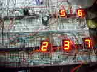 DIY Digital Clock Without Multiplexer NE-555 With Plans - Schematics