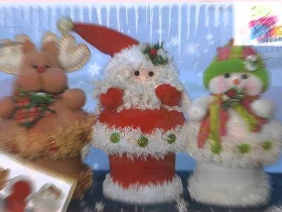 Ideas de muñecos para navidad. Christmas toys ideas