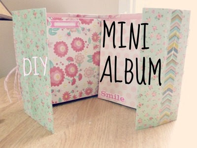 Mi 2do MINI ALBUM ♥ doble encuadernación  ♥  scrapbooking