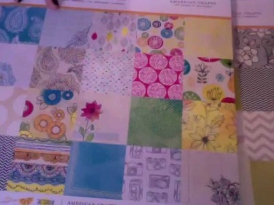Papel hermoso!    Parte 2 Para Scrapbook y paper crafting Pads 6x6