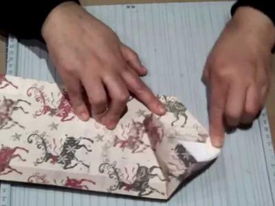 Scrapbook para principiantes: cómo hacer bolsas para regalos.