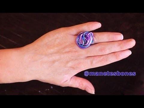 El anillo más económico y colorido :) | Tutorial DIY