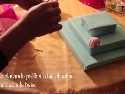 Tutorial Tarta de chuches