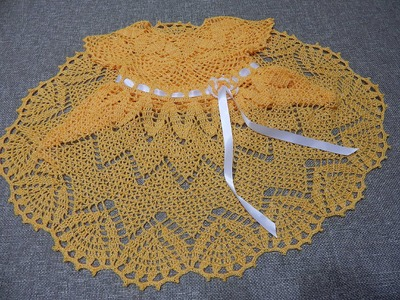 Vestido Zig Zag Crochet parte 1 de 3