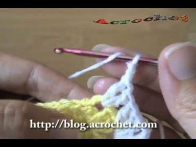 Como hacemos una cenefa en conchitas y puntos relieve parte 1