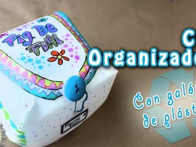 DIY: Cajas Organizadoras, reutilizando galones de plástico