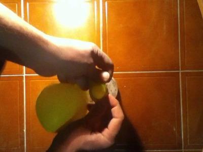Fabricar un globo anti estrés - muñeco para relajarse