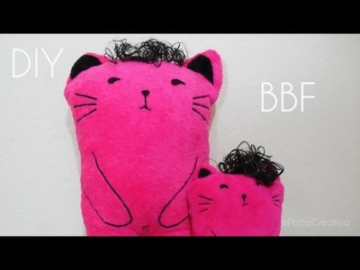 Gato de Boys Over Flowers-Peluche con moldes