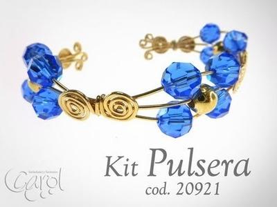 KIT 20921 Kit pulsera goldfield y sw sapphire x und