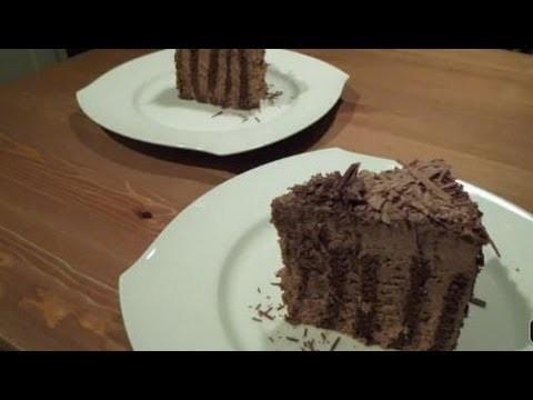Tarta Espiral de Trufa y Chocolate