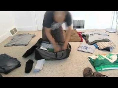 Todo cabe en una maleta sabiendolo acomodar