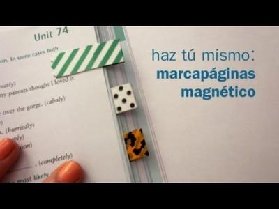 Tutorial de marca páginas magnético muy fácil