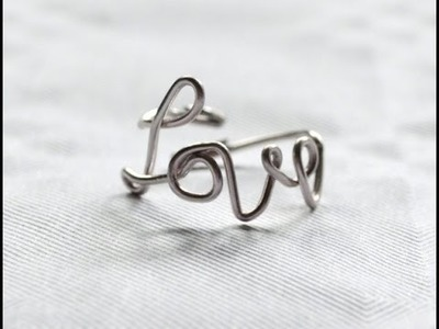 Anillo Love - Love ring