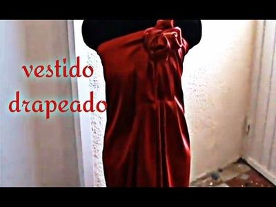Como Hacer Un Vestido Drapeado  Parte I
