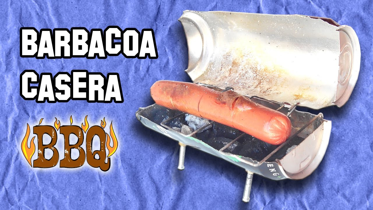 Como Hacer una Mini Barbacoa Casera | How to Make Homemade Barbecue mini