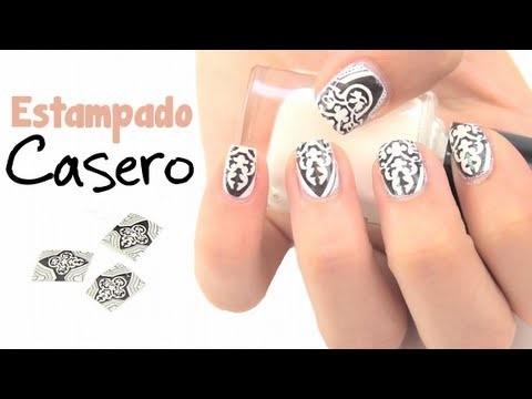 DIY: Diseño de uñas estampado casero