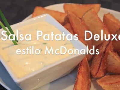 Salsa para patatas Deluxe estilo McDonalds - Recetas de Cocina