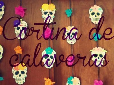 ¡Decoración para Día de Muertos o Halloween!- Blooudland :)