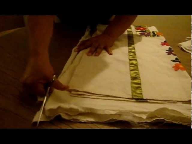 Como cortar una blusa de manta marimur 277