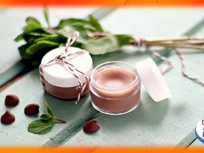 Como hacer brillo de labios casero de chocolate y menta