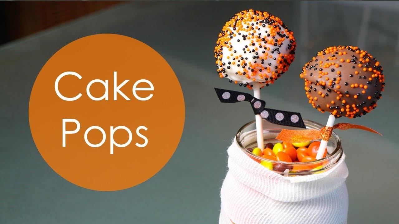 COMO HACER CAKE POPS