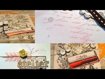 Como hacer Caligrafía - Art Pen - ZenTangle