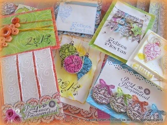 Como hacer tarjetas en Scrapbooking - Carolina Ghelfi