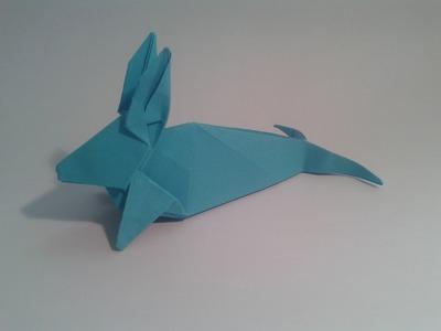 Como hacer un Foca-Conejo de origami