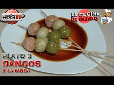 Dangos a la moda (Daifuku) - Plato 03 - La Cocina de Genko [MT TV]