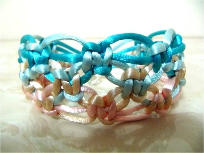 DIIY como hacer pulseras de la amistad con nudos - DIY how to make friendship bracelets with knots