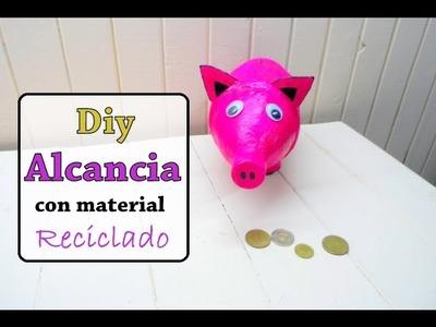 Diy:Alcancia de cerdito con material reciclado argentina pig piggy
