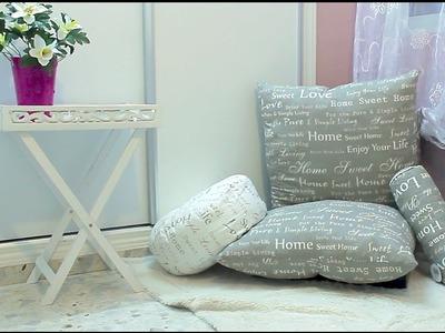 DIY Silla puff Hacer una zona de relax