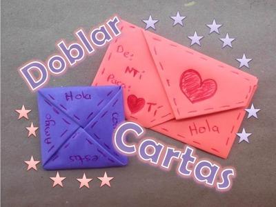 Doblar Cartas de Forma Original