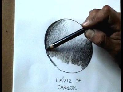 EJERCICIOS DE DIBUJO PROFESIONAL- Varios tipos de lápices
