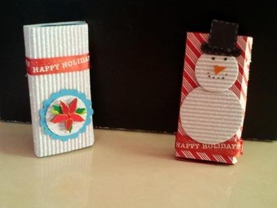 Especial De Navidad (2013) Cajitas Para Regalar Chocolates. Detalles. Facil