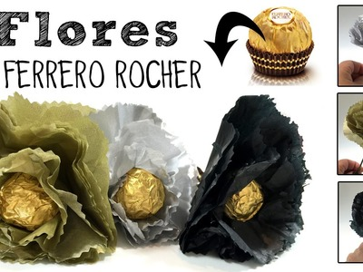 Flores con Ferrero Rocher: Regalo de San Valentín o Día de la Madre