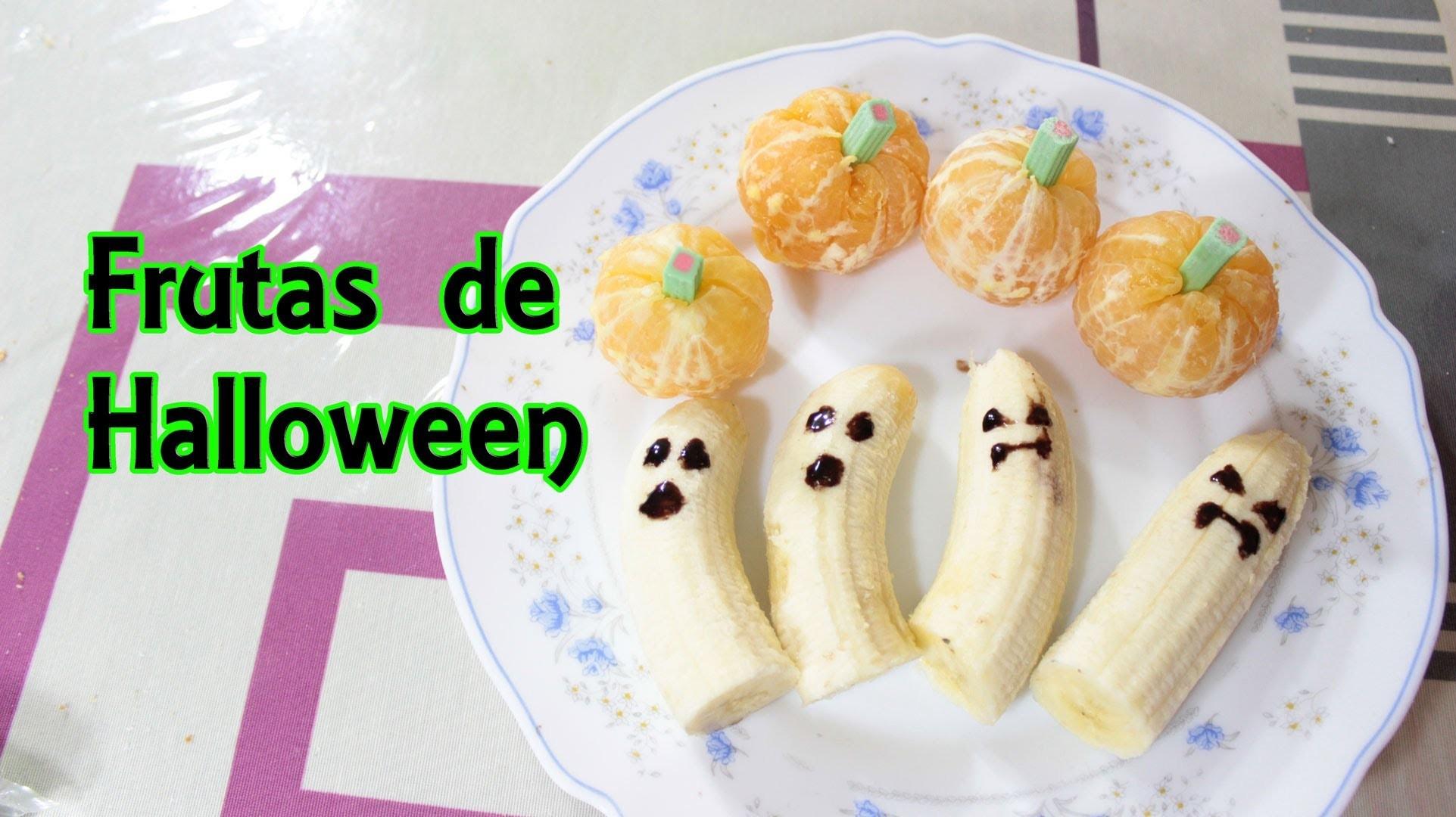 Frutas de Halloween - Recetas de Halloween - Manualidades Fáciles