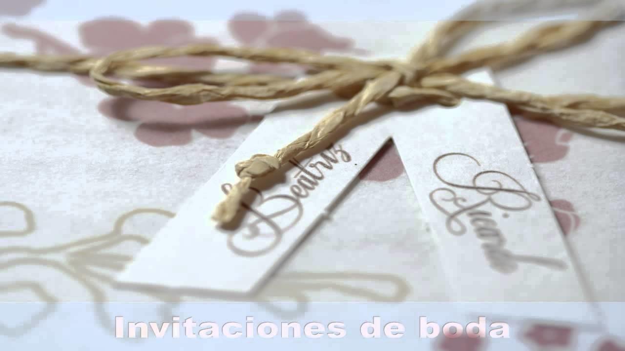 Invitaciones de boda 2013 -1