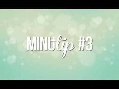 #MINUTIP 3: Pestañas fuertes y abundantes!