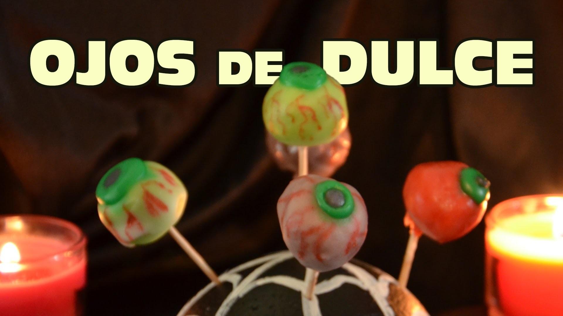 Ojos de goma de mascar FACIL | Recetas para Día de Muertos y Halloween
