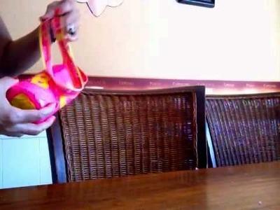 Otra idea para utilizar las botellas plásticas
